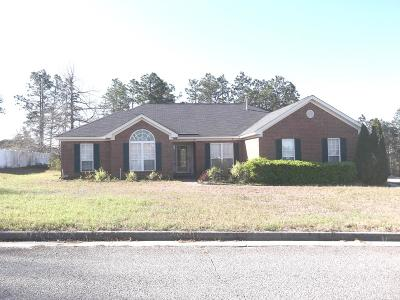 Augusta Single Family Home For Sale: 2702 Culverton Drive
