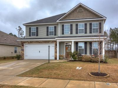 Grovetown GA Single Family Home For Sale: $224,900