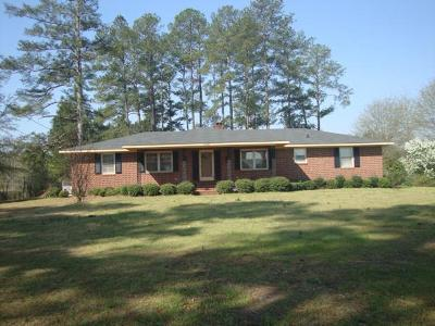 McDuffie County Single Family Home For Sale: 1019 Wrens Hwy
