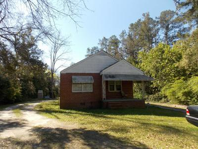 Augusta Single Family Home For Sale: 3466 Milledgeville Road
