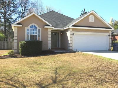 Grovetown Single Family Home For Sale: 4776 Orchard Hill Drive