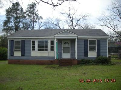Augusta GA Single Family Home For Sale: $24,500