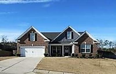 Grovetown Single Family Home For Sale: 813 Shirez Drive