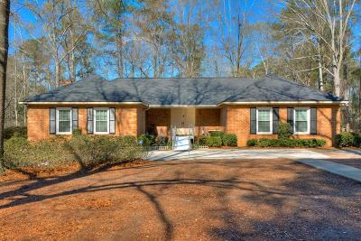 North Augusta Single Family Home For Sale: 2 Gregory Court