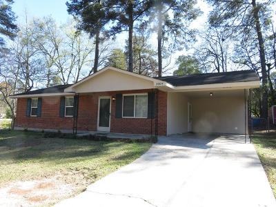Augusta GA Single Family Home For Sale: $109,500