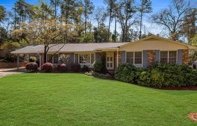 North Augusta Single Family Home For Sale: 1009 Stanton Drive