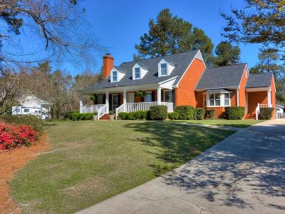 Augusta GA Single Family Home For Sale: $339,900