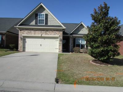Grovetown GA Single Family Home For Sale: $184,500