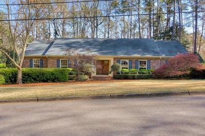 Augusta Single Family Home For Sale: 3402 Sasanqua Drive