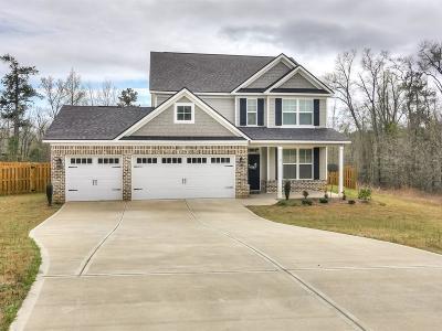 Hephzibah Single Family Home For Sale: 2638 New Hope Circle
