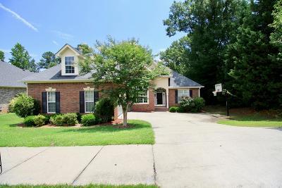 Evans Single Family Home For Sale: 1414 Hampton Street