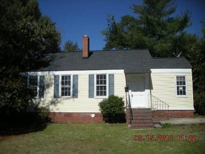 Augusta GA Single Family Home For Sale: $68,000