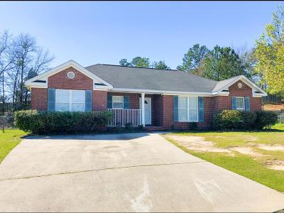 Augusta Single Family Home For Sale: 3621 Mount View Drive