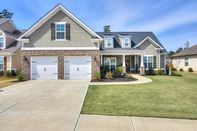 Evans Single Family Home For Sale: 811 Brasstown Court