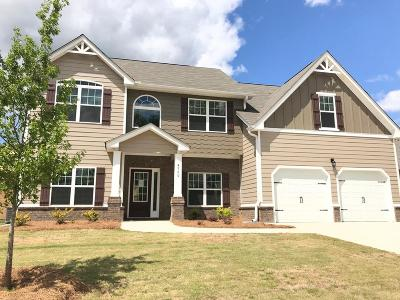 Grovetown GA Single Family Home For Sale: $299,990