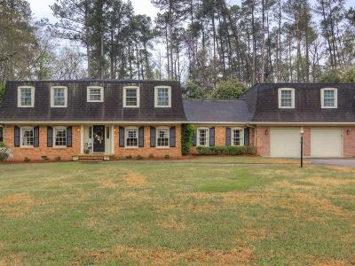 Augusta Single Family Home For Sale: 3042 Westwood Drive
