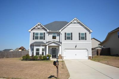 Grovetown GA Single Family Home For Sale: $215,000