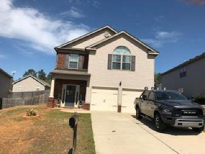Grovetown GA Single Family Home For Sale: $185,000