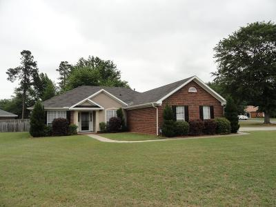 Augusta Single Family Home For Sale: 3101 Kaylon Court