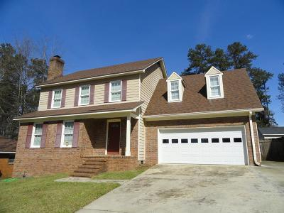 Evans Single Family Home For Sale: 632 Fieldstone Way
