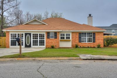 Grovetown GA Single Family Home For Sale: $154,900