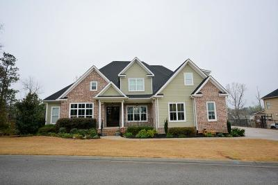 Evans GA Single Family Home For Sale: $555,000