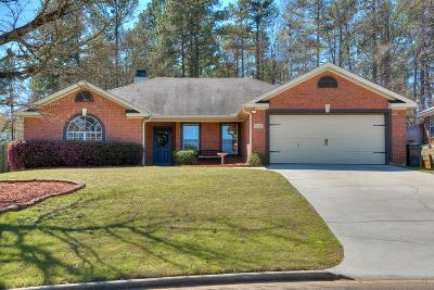 Evans Single Family Home For Sale: 4714 Waltons Circle