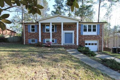 Augusta GA Single Family Home For Sale: $120,000