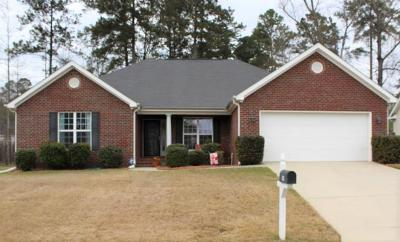 Grovetown Single Family Home For Sale: 209 Crown Heights Way