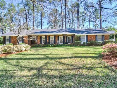 Augusta GA Single Family Home For Sale: $325,000
