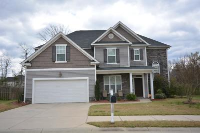 Grovetown Single Family Home For Sale: 1018 Lancaster Way