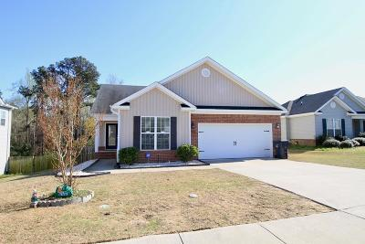 Grovetown Single Family Home For Sale: 906 Arbor Springs Circle