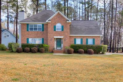 Evans Single Family Home For Sale: 869 Chase Road