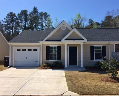 Augusta GA Single Family Home For Sale: $137,900