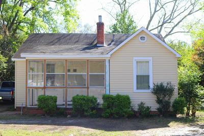 Augusta Single Family Home For Sale: 1918 Haynie Drive
