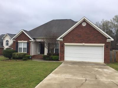Grovetown Single Family Home For Sale: 527 Marble Falls