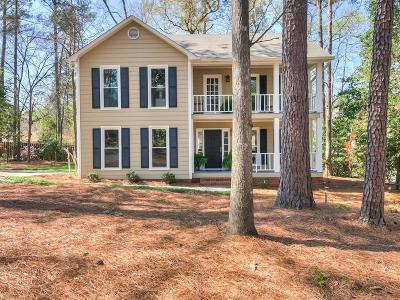 Martinez Single Family Home For Sale: 332 Habersham Road