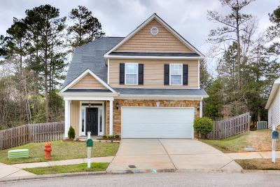 Grovetown Single Family Home For Sale: 2047 Dundee Way