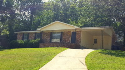 Augusta GA Single Family Home For Sale: $95,000
