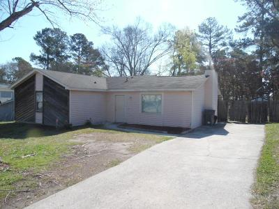 Richmond County Single Family Home For Sale: 3042 Dennis Road