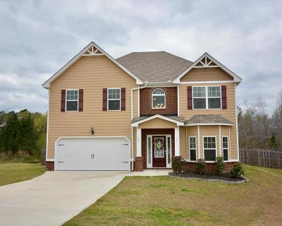 Grovetown Single Family Home For Sale: 839 Shirez Drive