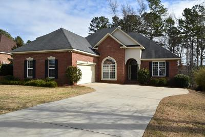 Columbia County, Richmond County Single Family Home For Sale: 5108 Wells Drive