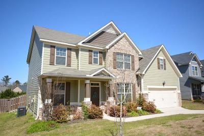 Grovetown Single Family Home For Sale: 5503 Dualwood Drive