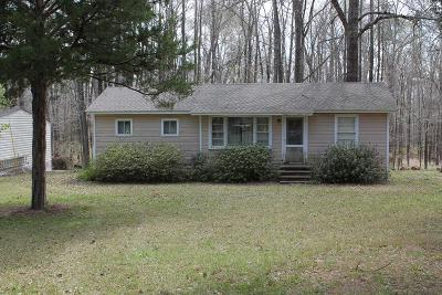 Lincolnton Single Family Home For Sale: 1139 Dixie Lane