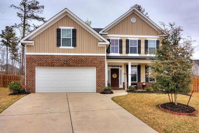 Grovetown Single Family Home For Sale: 2653 Waites Drive