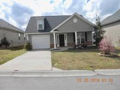 Grovetown Single Family Home For Sale: 3427 Grove Landing Circle #--
