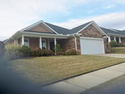 Evans Single Family Home For Sale: 4105 Striped Maple Grove