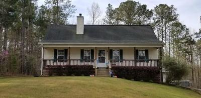Lincoln County Single Family Home For Sale: 1668 Buckhead Road