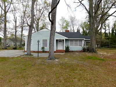 McDuffie County Single Family Home For Sale: 406 Dixie Drive
