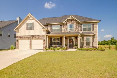 Grovetown Single Family Home For Sale: 1519 Chase Creek Drive